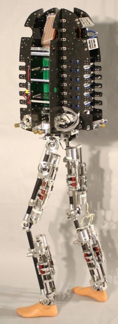 A Robot Who Walks Like a Human