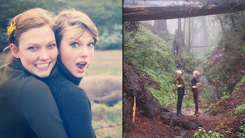 Taylor Swift & Karlie Kloss Lovingly Instagrammed Their BFF Road Trip