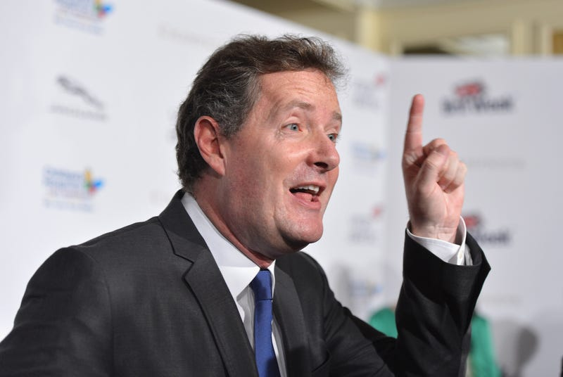 Piers Morgan Was Questioned By Police About Phone Hacking