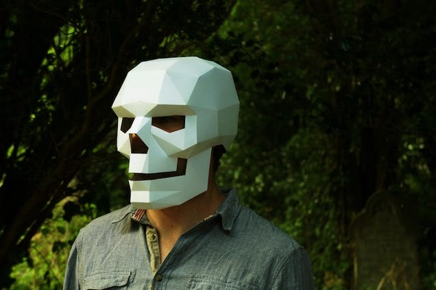 These Paper Masks Are Halloween Costumes Made Easy