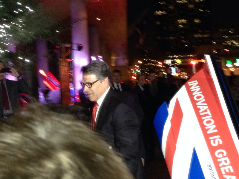 And This Is Rick Perry Getting Out Of A McLaren