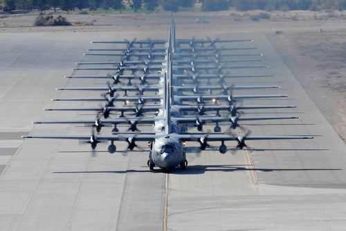 We've Got A Great Big Convoy... Of C-130s