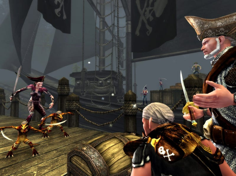 Celebrating Five Years Of Dungeons & Dragons Online With Pirates