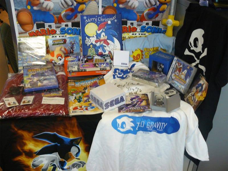 Celebrate Sonic's Birthday With Sega Swag