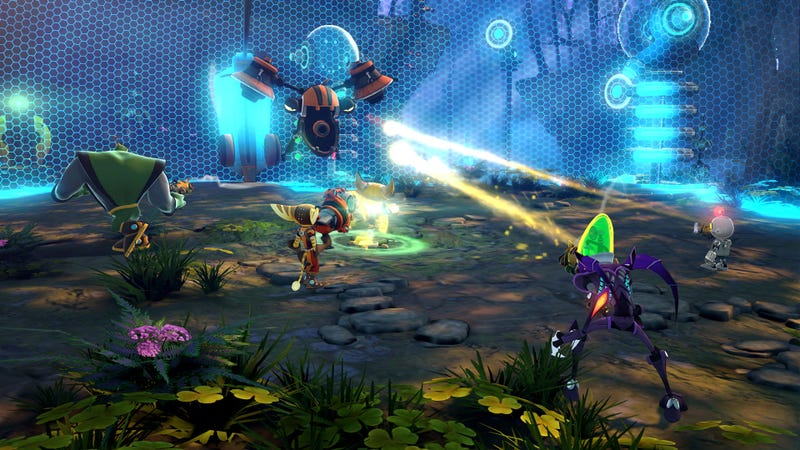 Ratchet & Clank: All 4 One Screen Shots