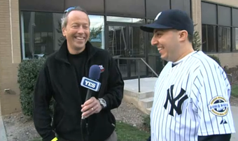 Yankees Fan Of The Year Michael LaPayower Gets Paid