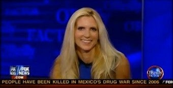 Ann Coulter, Friend To Homophobic Gubernatorial Candidates Everywhere