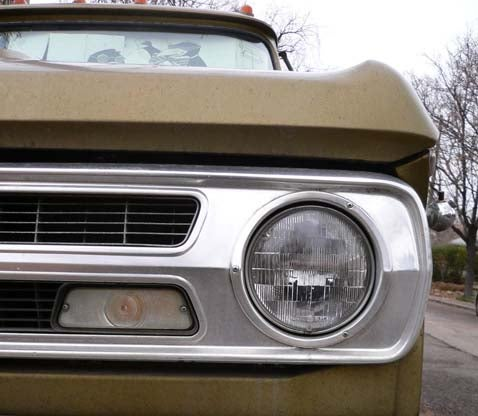 1971 Dodge Camper Special