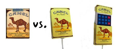 Camel Cigarette Phone Probably Won't Fool Anyone
