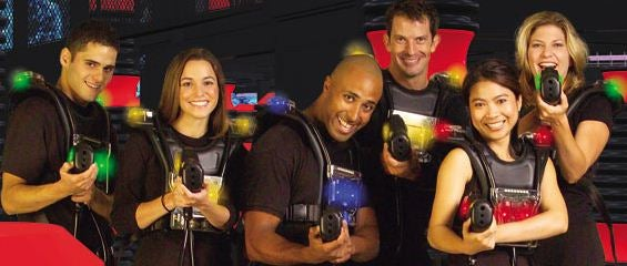 Video Games Aren't Killing Laser Tag, They Can Coexist