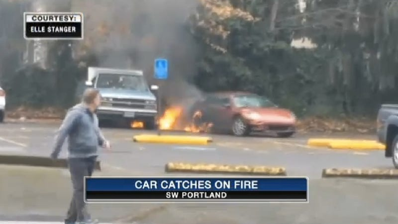 Another Man Steals Gas While Smoking, Also Sets Self, Car On Fire