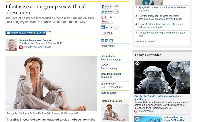 Stock Photo Model Labeled as Obese Elderly Orgy Lover Speaks Out