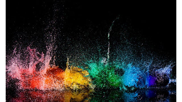 Water Balloons Have Never Exploded So Beautifully