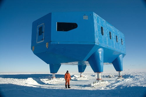 11 Surreal Antarctic Structures