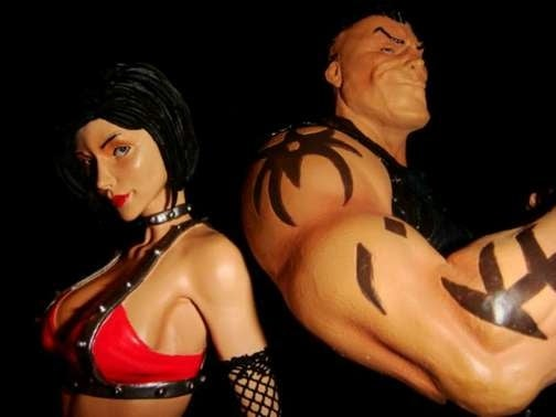 Unbound Saga's Lori and Rick In The Plastic Flesh