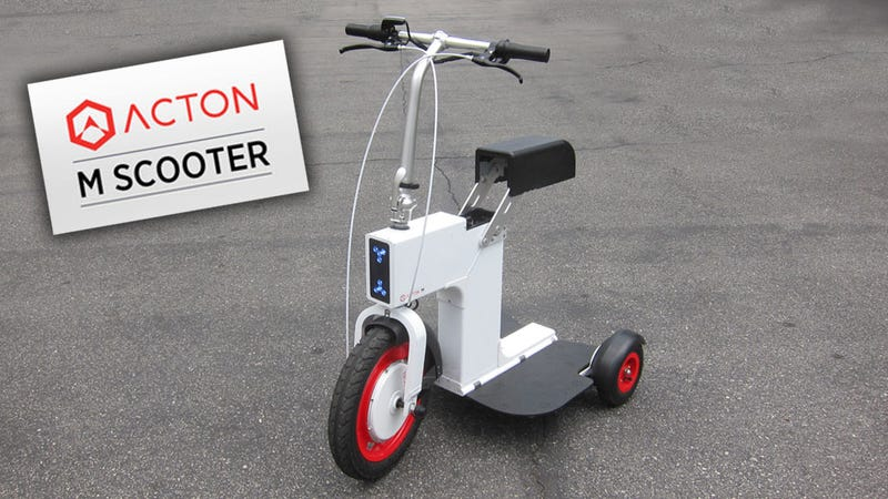 Acton M Mobility Scooter: The Jalopnik Wheeled Thing Review