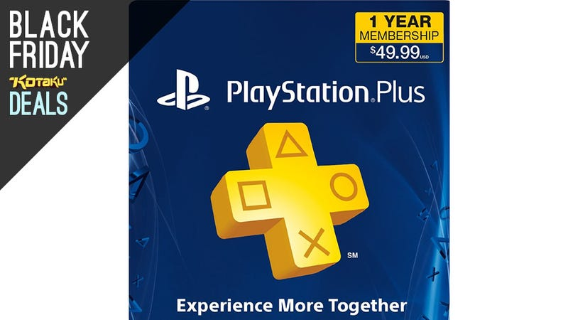 Playstation Plus 1 Year Membership With Bonus Video Credit For $30