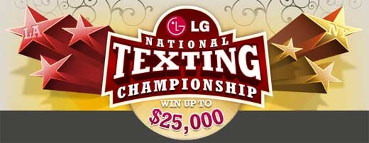 National Texting Championship is the Opposite of a Sporting Event