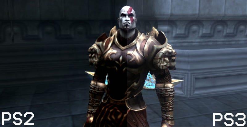God Of War PS2 vs God Of War PS3