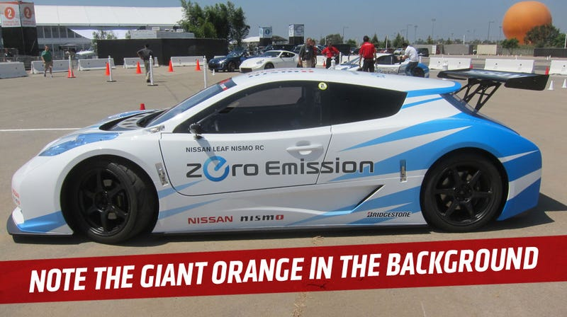 The Nissan Leaf NISMO RC Is A Legit EV Racer