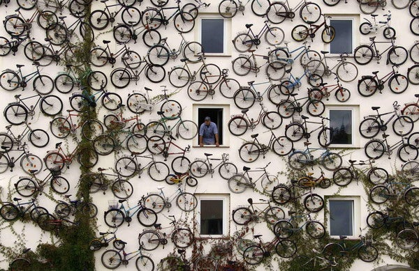 You Know When You're Biking and You Hit That Wall?
