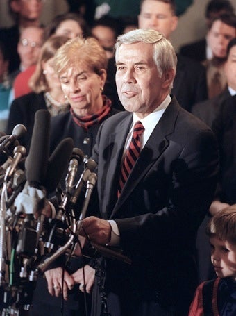 Sen. Dick Lugar's Wife Arrested for Drunk Driving