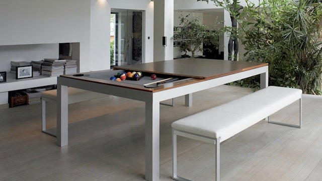 A Hidden Pool Table for the Modern Bachelor