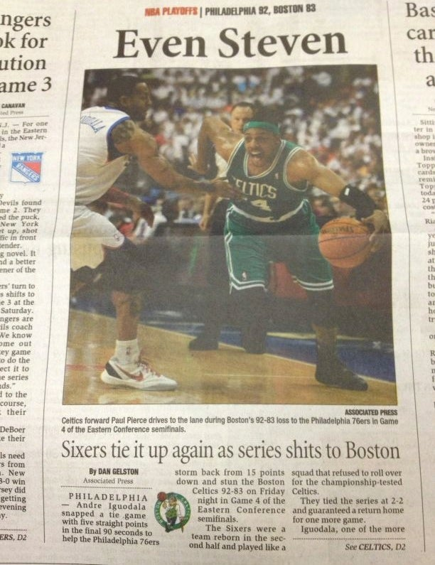 "Today In Unfortunate Newspaper Typos: ""Series Shits To Boston"""