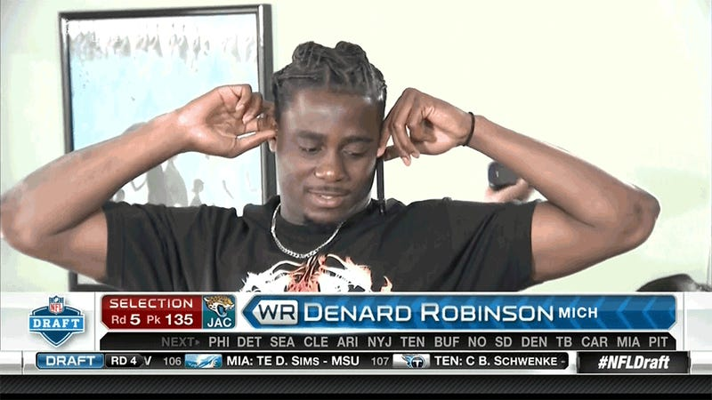 Our Favorite NFL Draft Moment Came When Denard Robinson Was Selected