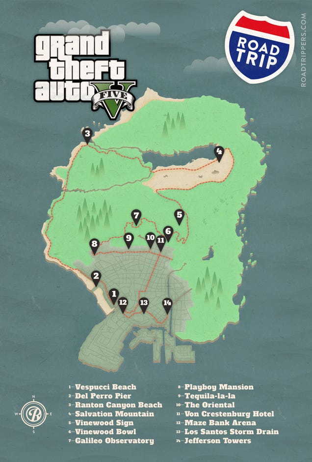 Gta 5 Hookers Location Take a Road Trip to GTA V s