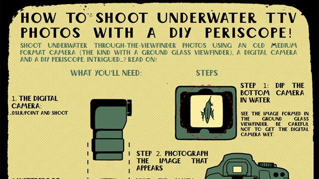 How to Shoot Underwater Photos Using a Vintage Film Camera