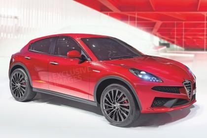 Alfa Romeo is preparing a 500hp SUV for 2016