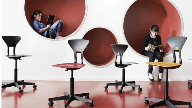 Gorgeous School Furniture That Teaches Kids Good Posture