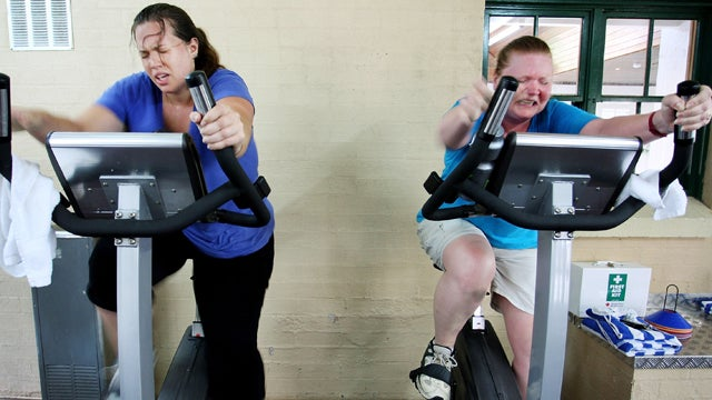 Solving America's Greatest Problem: Sweating Too Much at Spin Class