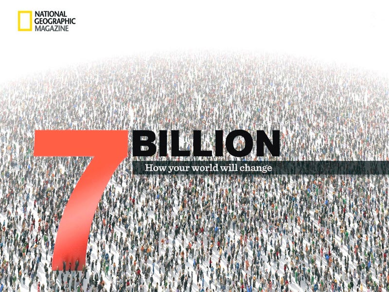 What does a world of 7 billion people look like?