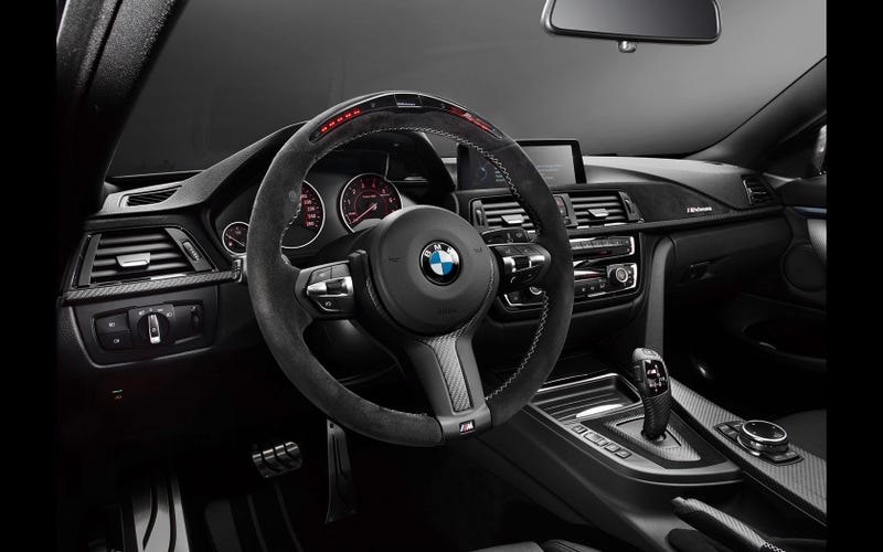 The Best Steering Wheel Ever - BMW M4 Performance