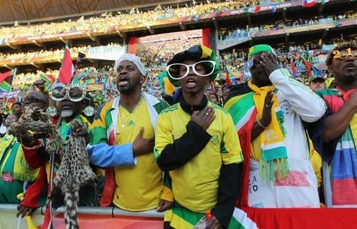Rabid World Cup Fans Show National Pride, General Insanity