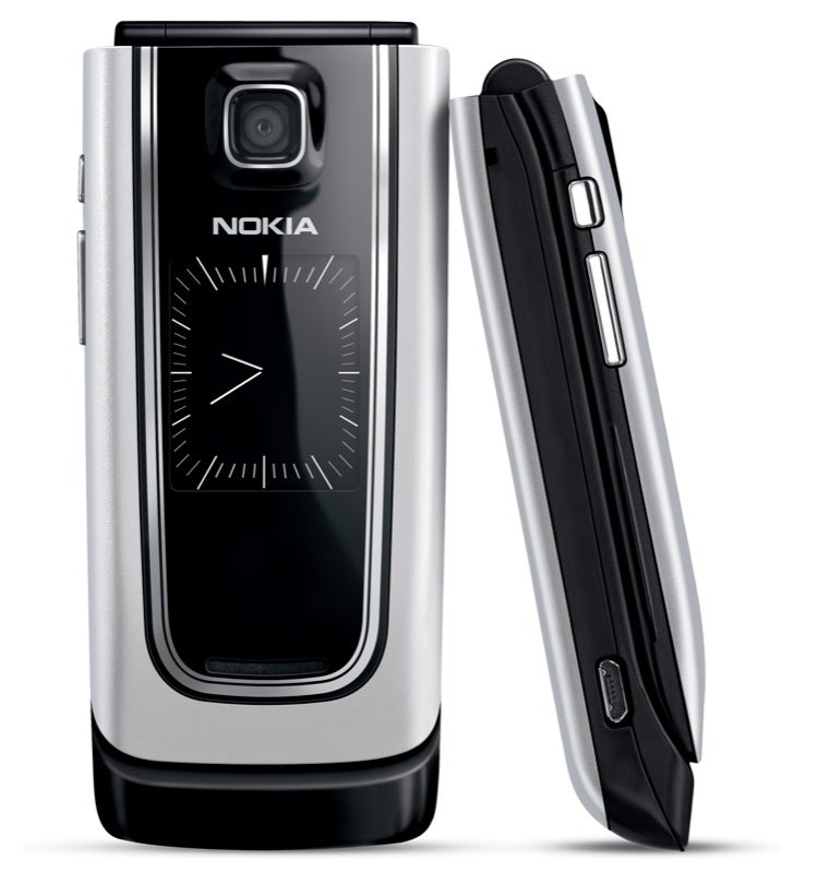 Nokia 6555 is Skinny Clamshell with 3G, Analog Clock, Video Sharing