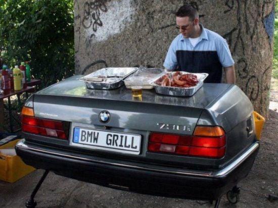An E32 grill