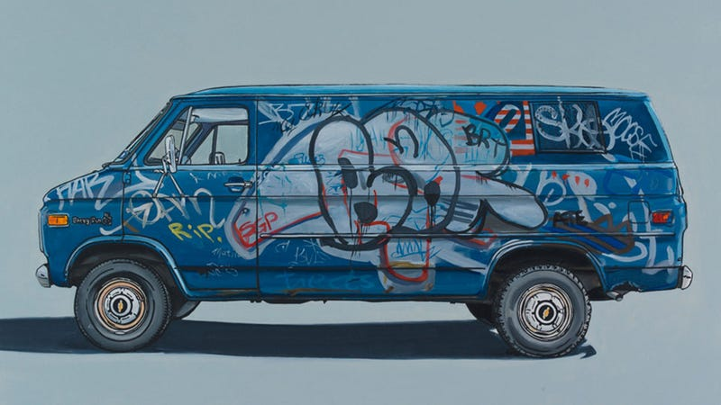 The Wonderful Van Paintings of Kevin Cyr