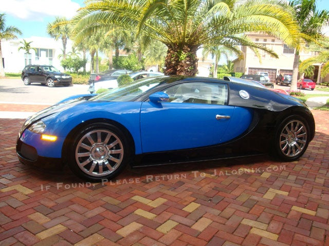 EXCLUSIVE: Bugatti Lake Crash Owner Buys Replacement $1.5 Million Veyron