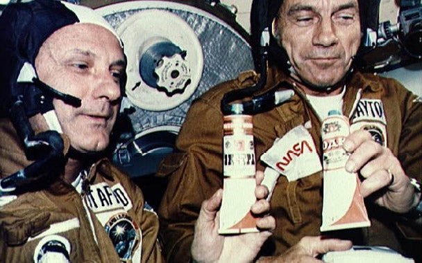 Gourmet Magazine's History of Space Food Reveals Our Ultimate Goal: Distilling Cheap Liquor In Space