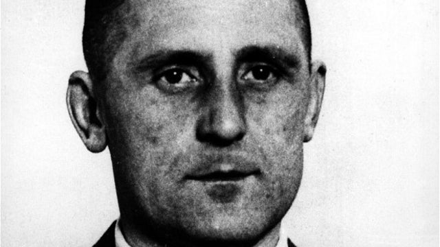 One of history's most notorious Nazis is buried in a Jewish cemetery