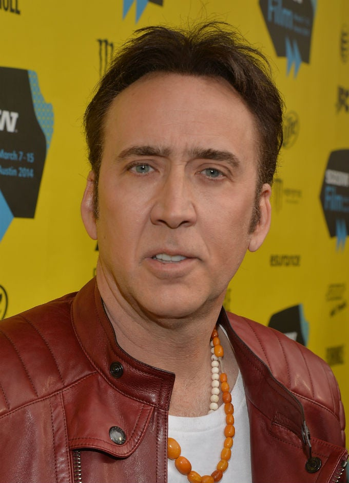 Nicolas Cage Goes Semi-Full Nicolas Cage At SXSW