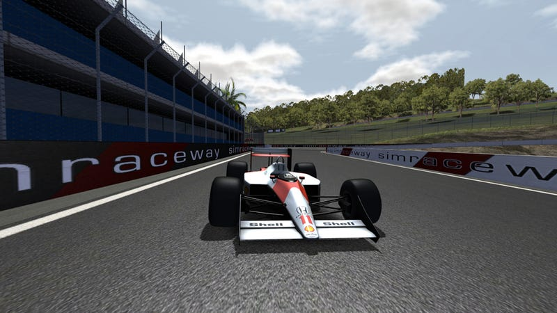What It's Like To Virtually Drive The Race Car Of My Dreams