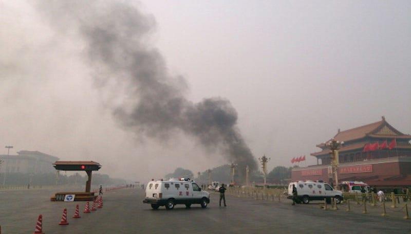 SUV Crashes Into Crowd at Tiananmen Square, Killing 5 and Injuring 38