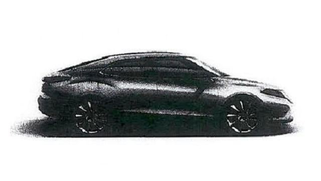 Is this an ultrasound of Saab's 9-3 fetus?