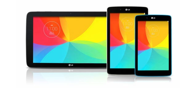 LG's G Pad Will Now Come In Every Size You Could Ever Want