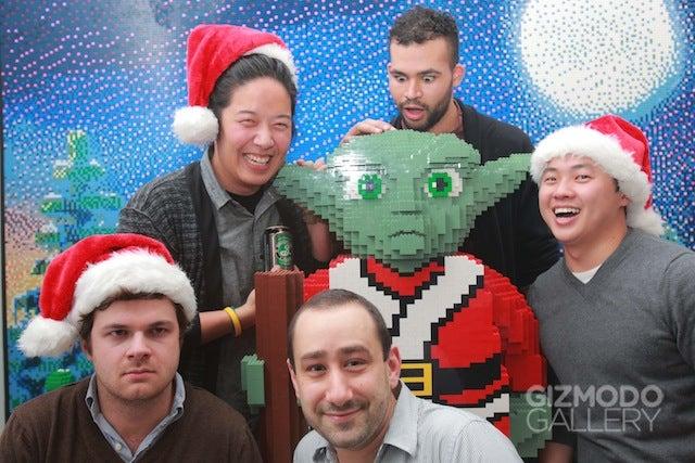 Lego Santa Yoda Gallery