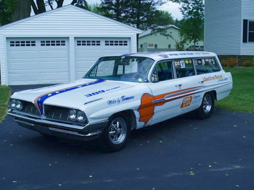 The 1961 Pontiac Safari Drag-Wagon